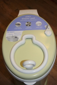 Ubbi Steel Diaper Pail Review | The Life of B Blog