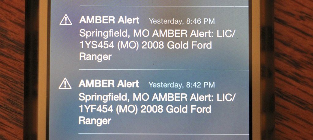 Do Amber Alerts on your phone annoy you? | Rebekah's Ramblings @thelifeofb