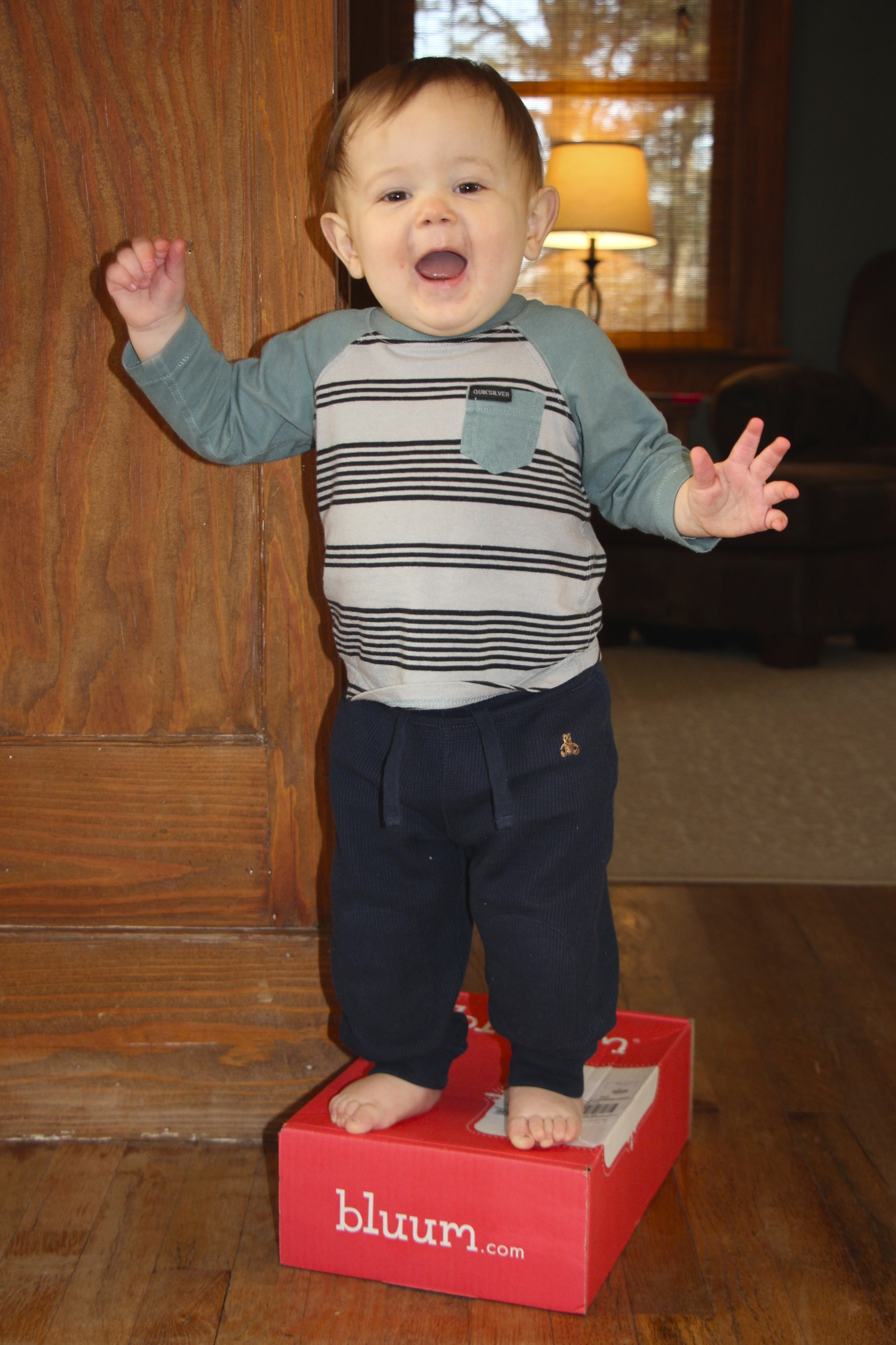 Bluum Box March 2014 Review 14 Month Old Boy
