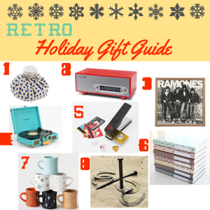 Retro Holiday Gift Guide Modern Vintage-Lover